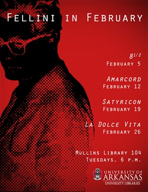 Fellini in February film series